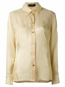 Jean Louis Scherrer Pre-Owned classic shirt - Neutrals