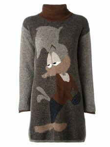 JC de Castelbajac Pre-Owned Woody Woodpecker jumper - Brown