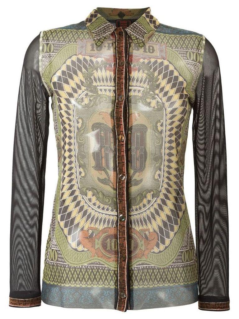 Jean Paul Gaultier Vintage 'Le Grand Voyage' shirt - Multicolour