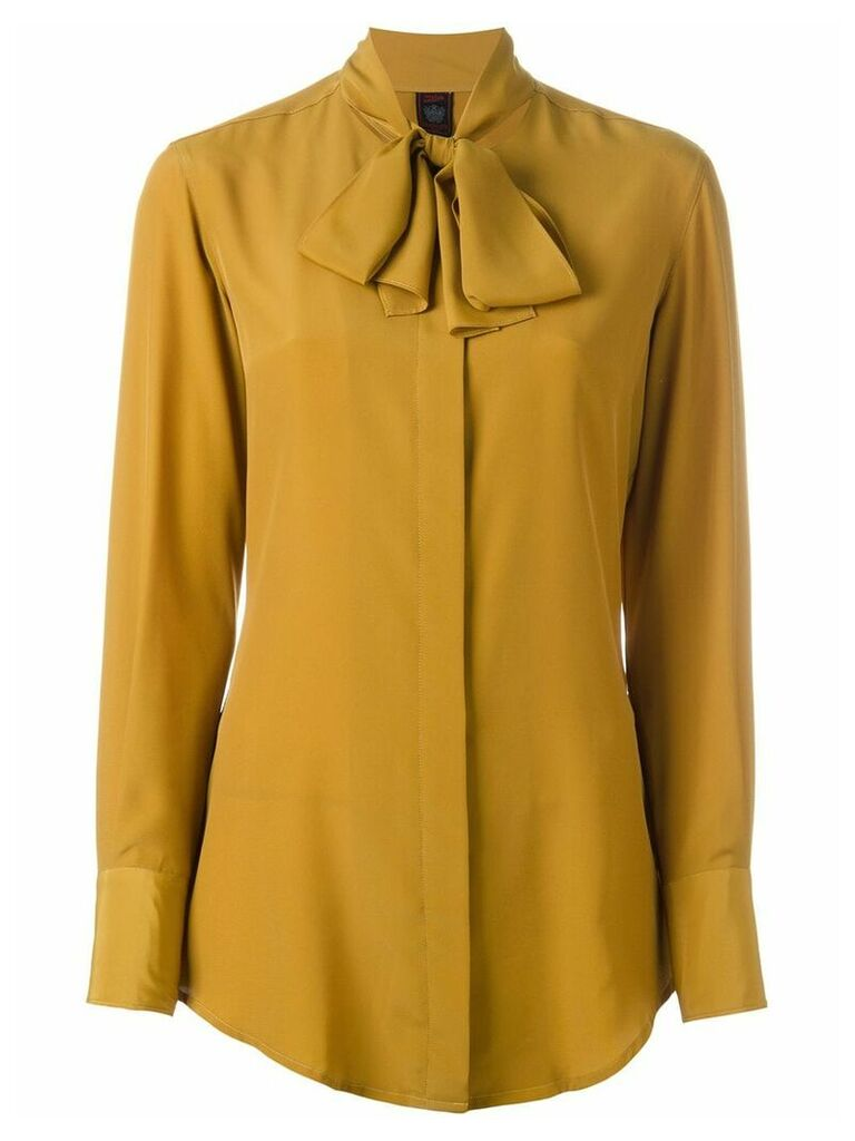 Jean Paul Gaultier Vintage pussy bow blouse - Yellow