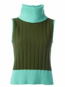 Versace Pre-Owned sleeveless sweater - Green