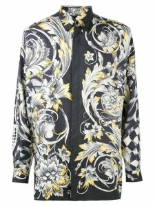 Versace Pre-Owned baroque print shirt - Black