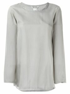 Comme Des Garçons Pre-Owned longsleeved blouse - Grey