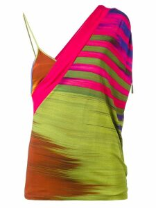 Jean Paul Gaultier Pre-Owned wrap-style top - Multicolour