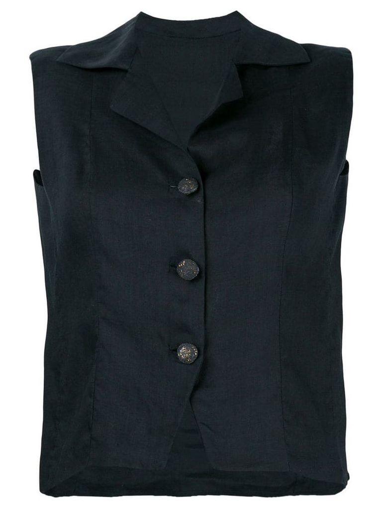 Balenciaga Vintage tailored waistcoat - Black