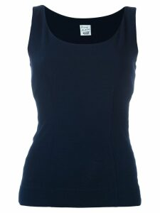 Moschino Pre-Owned classic tank top - Blue