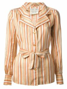 Emanuel Ungaro Pre-Owned striped shirt - Yellow