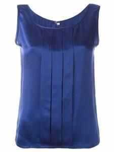 Jean Louis Scherrer Pre-Owned sleeveless top - Blue