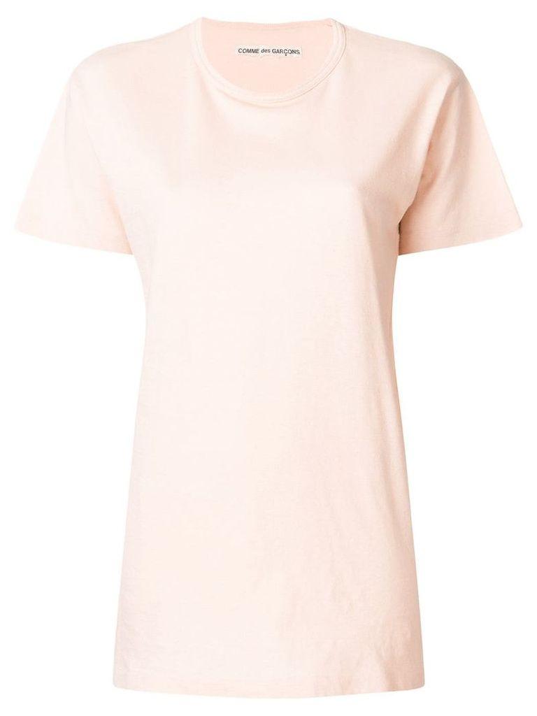 Comme Des Garçons Vintage classic crew neck T-shirt - Pink