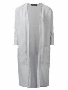 Jean Louis Scherrer Pre-Owned v-neck cardigan - Grey