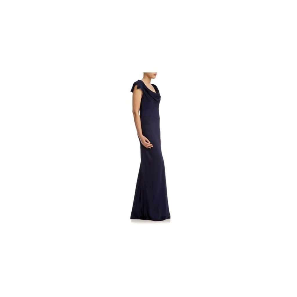 GHOST Sylvia Dress Navy