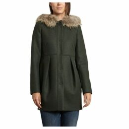 Tara Jarmon Fur Trim Coat