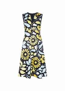 Lauren Dress Yellow Multi