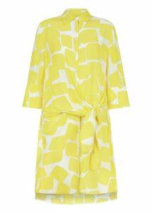 Tallulah Dress Yellow Ivory 10