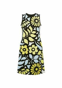 Elinor Dress Yellow Multi