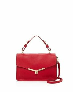 Botkier Valentina Pebbled-Leather Satchel