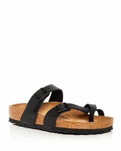 Birkenstock Women's Mayari Buckled Slide Sandals