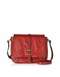 The Bridge Designer Handbags, Rimbaud Leather Medium Shoulder Bag
