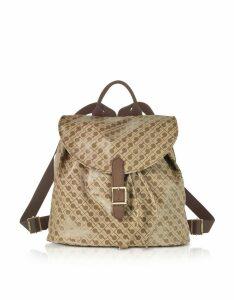 Gherardini Designer Handbags, Signature Fabric Softy Backpack