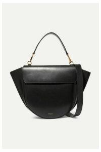 Wandler - Hortensia Large Leather Shoulder Bag - Black