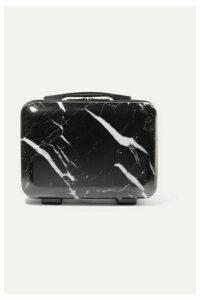 CALPAK - Astyll Marbled Hardshell Vanity Case - Black