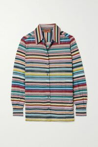 Isabel Marant - Ensel Coated Cotton-blend Raincoat - Midnight blue