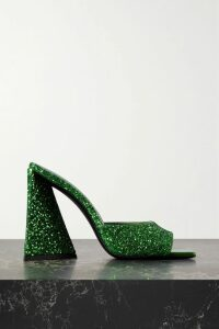 MSGM - Ruffle-trimmed Stretch-crepe Blazer - Black
