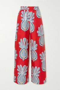 Stella McCartney - Oversized Velvet Blazer - Navy