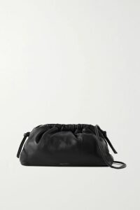Balmain - Double-breasted Patent-leather Blazer - Black