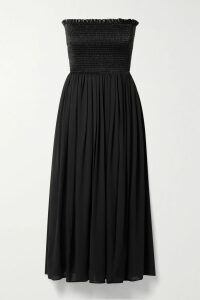 Stella McCartney - Houndstooth Wool-tweed And Silk-twill Blazer - Gray