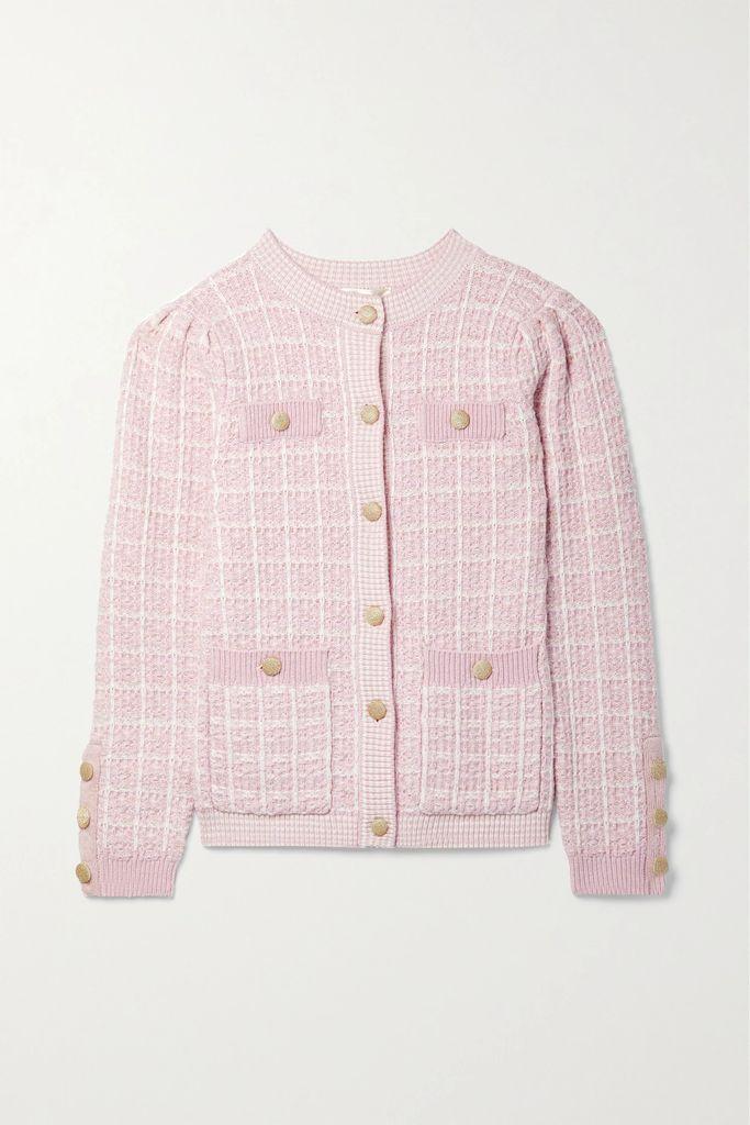 3x1 - Oversized Denim Jacket - Burgundy