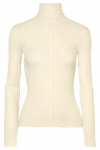 Chloé - Ribbed Wool Turtleneck Sweater - Cream
