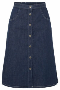 M.i.h Jeans - Callcott Organic Denim Skirt - Dark denim