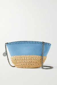 Balenciaga - Double-breasted Houndstooth Wool-blend Coat - Black