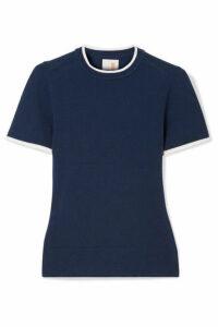 JoosTricot - Stretch Cotton-blend Sweater - Storm blue