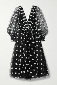 Prada - Tech-jersey Midi Skirt - Red