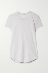 Co - Pleated Satin-twill Midi Skirt - Pink