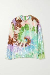Ellery - Dasha Striped Ribbed-knit Midi Skirt - Black
