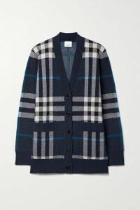 Gucci - Asymmetric Printed Silk-twill Midi Dress - Blue