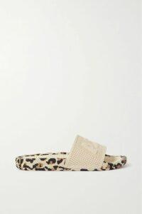 MICHAEL Michael Kors - Floral-print Cloqué Midi Dress - Navy