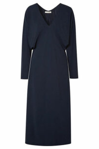 The Row - Dan Cady Midi Dress - Navy