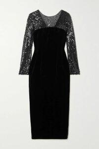 Sonia Rykiel - Textured-leather Mini Skirt - Black