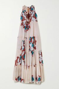 Burberry - The Regina Oversized Wool-gabardine Trench Coat - Navy