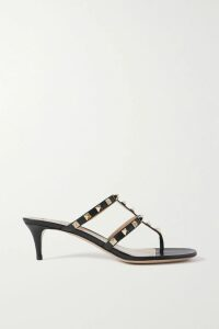 Alexander McQueen - Frayed Tweed Blazer - Black