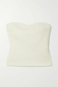 Jason Wu - Asymmetric Stretch-ponte Midi Skirt - Red