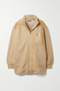Alice + Olivia - Triss Asymmetric Tulle And Lace Midi Skirt - Black
