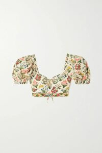 Roland Mouret - Keaton Draped Cotton-blend Tweed Midi Skirt - Black