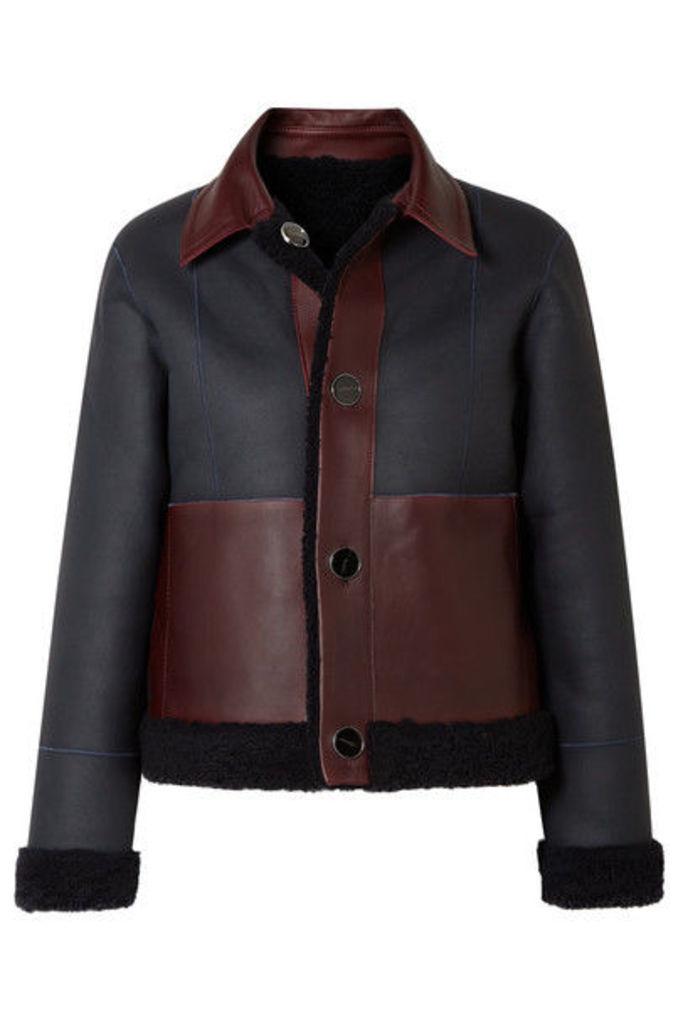 Victoria, Victoria Beckham - Reversible Shearling Jacket - Midnight blue