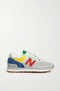 Adam Lippes - Striped Cotton-jacquard Dress - Light blue