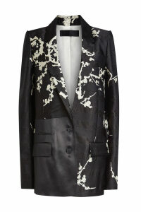 Haider Ackermann Printed Blazer with Silk
